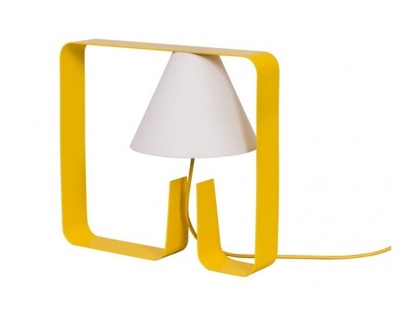 Metal table lamp FANTOM by Flam & Luce