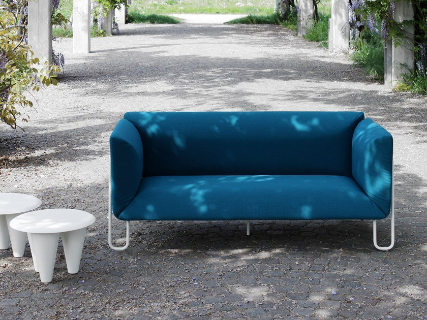 2 seater fabric sofa FARG by spHaus