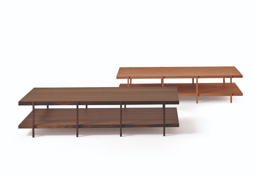 Rectangular wooden coffee table FARNSWORTH | Rectangular coffee table by Busnelli