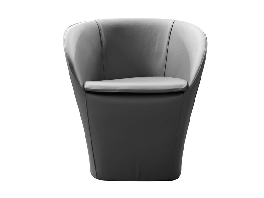 Upholstered easy chair FARRA by Trevisan Asolo