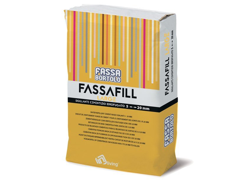 Flooring grout FASSAFILL LARGE by FASSA