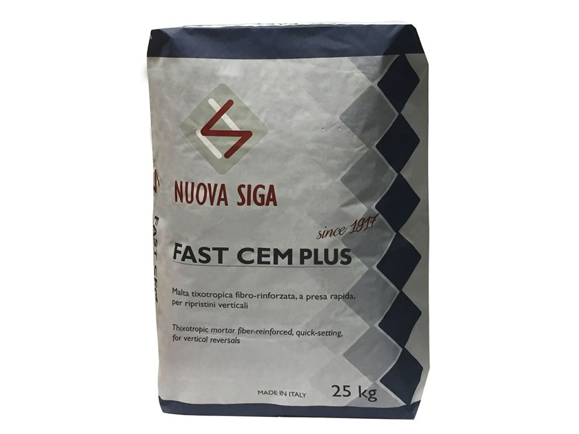 Fibre reinforced mortar FASTCEM PLUS by NUOVA SIGA