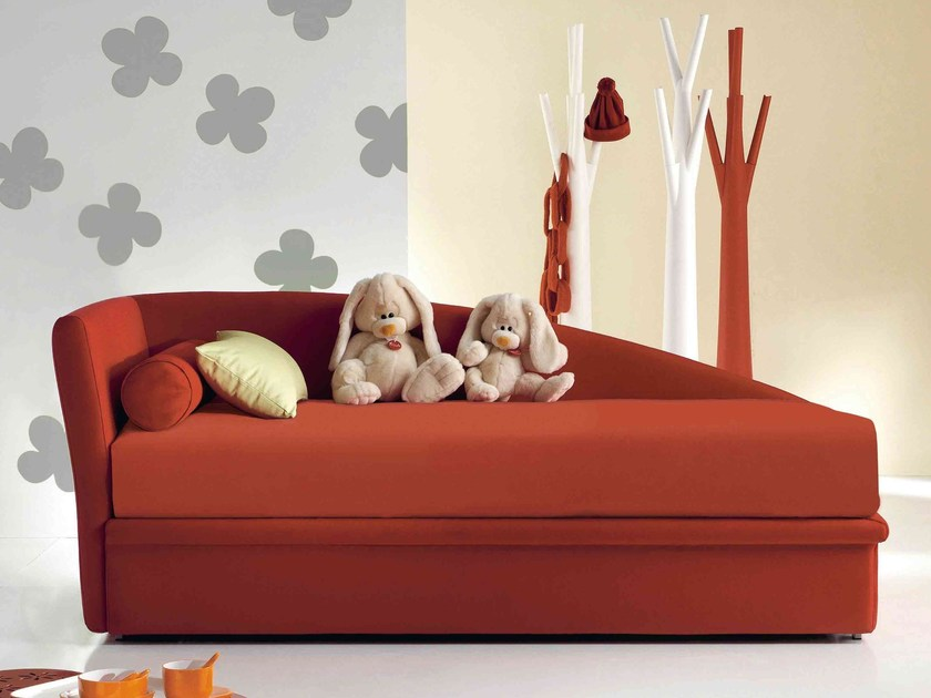 einzelbett mit bettkasten fata by bonaldo. Black Bedroom Furniture Sets. Home Design Ideas
