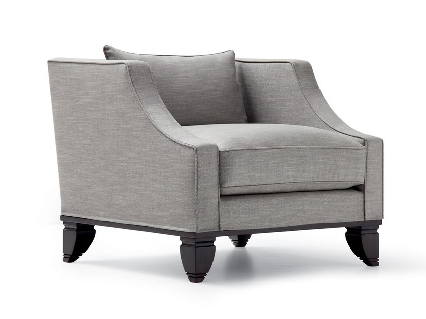 Fabric armchair with armrests FAUST | Armchair by OPERA CONTEMPORARY