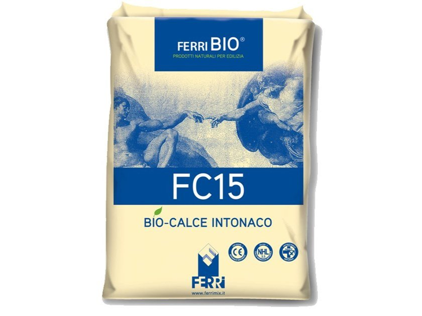 Fibre-reinforced and special plaster FC15 by Ferrimix