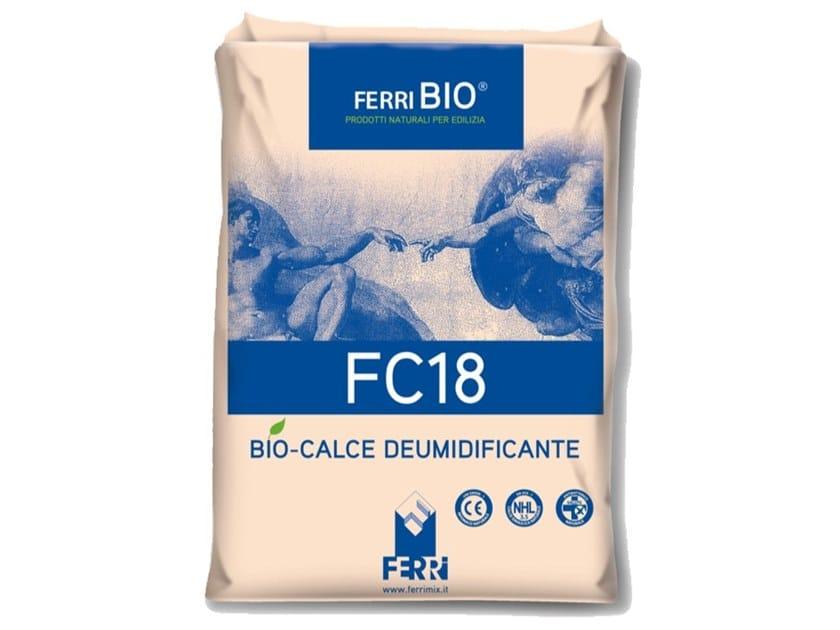 Dehumidifying plaster FC18 by Ferrimix