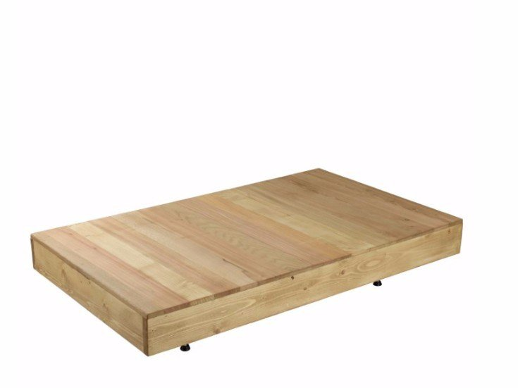 Low wooden coffee table FCT0252 | Coffee table by Gie El Home