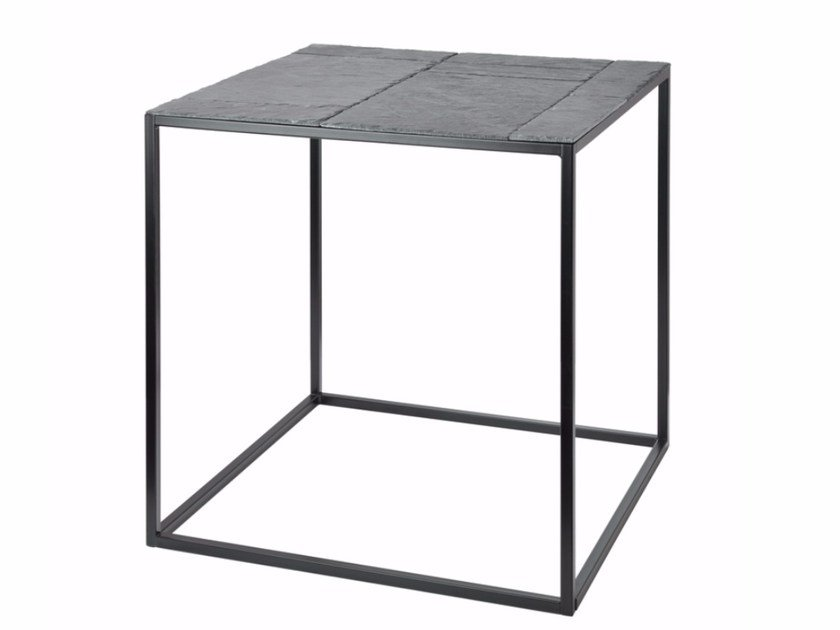 Square Slate Coffee Table Fct0270 By Gie El Home