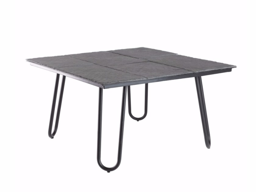 Square slate coffee table FCT0275 | Coffee table by Gie El Home