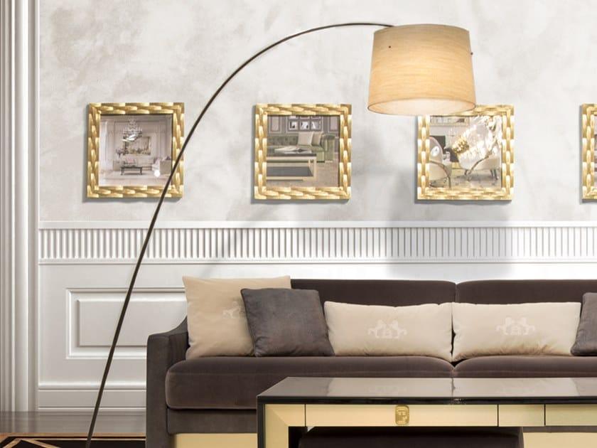 Glass-fibre arc lamp FD CURVE by Tonino Lamborghini Casa