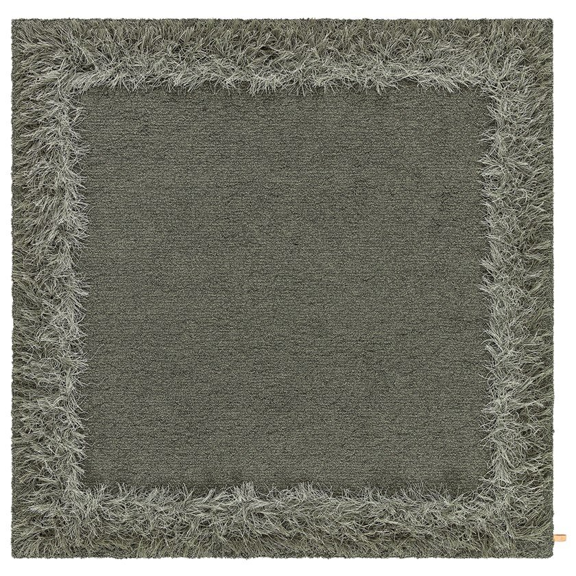 Handmade square rug FEATHER   Square rug by Kasthall