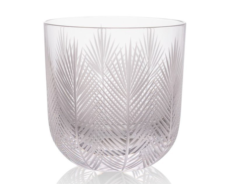 Water crystal glass FEATHER by Rückl