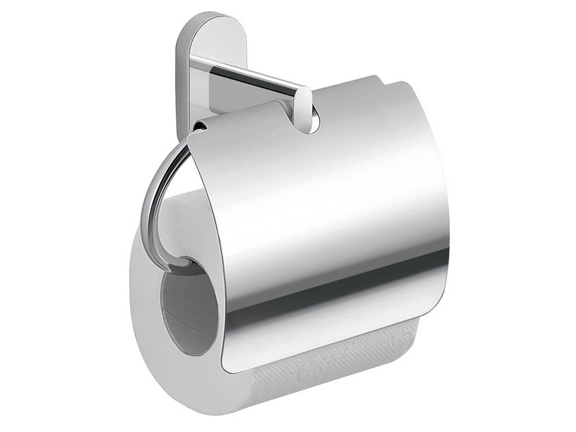 Toilet roll holder with cover FEBO | Toilet roll holder with cover by GEDY