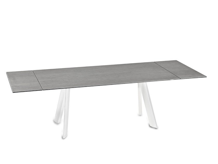 Extending Rectangular Ceramic Dining Table Felix By Naos