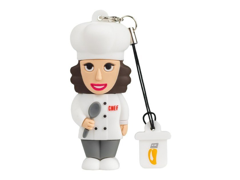 Pen Drive USB 8GB FEMALE CHEF by PROFESSIONAL USB