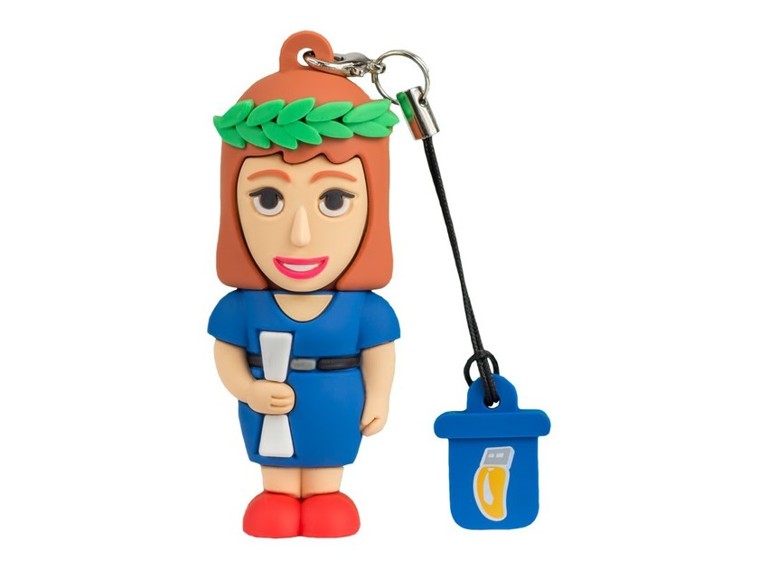 Pen Drive USB 8GB FEMALE GRADUATE by PROFESSIONAL USB