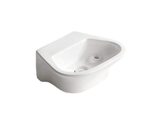 Ceramic Public washbasin FENICE by GALASSIA