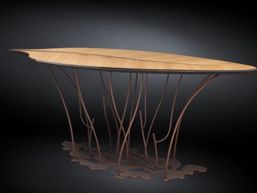 Wooden high table FENICE | High table by VGnewtrend