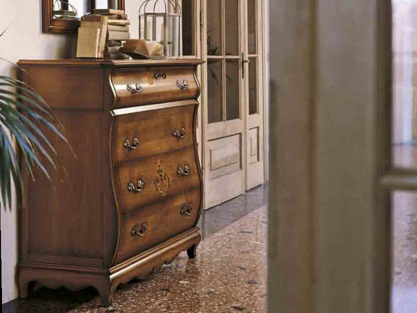 Solid wood chest of drawers FENICE | Solid wood chest of drawers by Arvestyle
