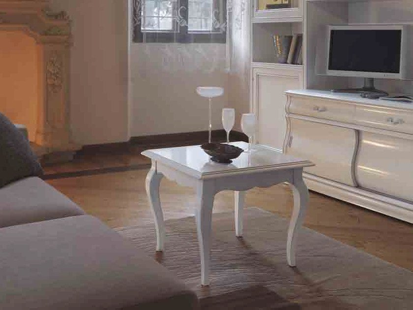 Square solid wood coffee table FENICE | Square coffee table by Arvestyle
