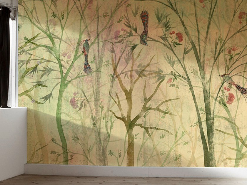 Ecological washable PVC free wallpaper FENICE by Wallpepper