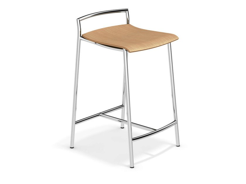Wooden stool FENIKS BARSTOOL | Stool by Casala