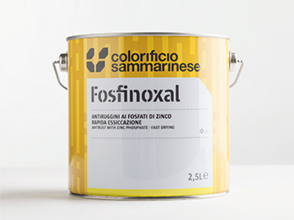 Solvent-based anti-rust coating FERRINOXAL by Colorificio Sammarinese