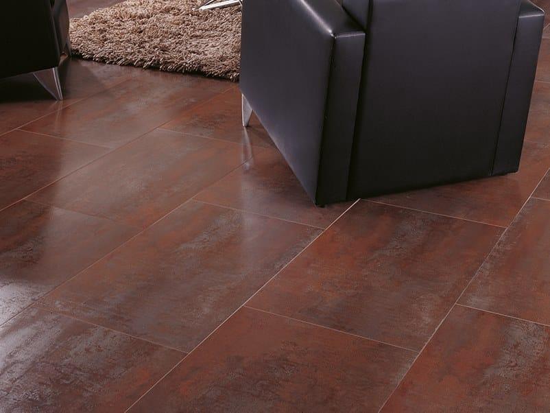 Flooring with metal effect FERROKER CALEDRA by Venis