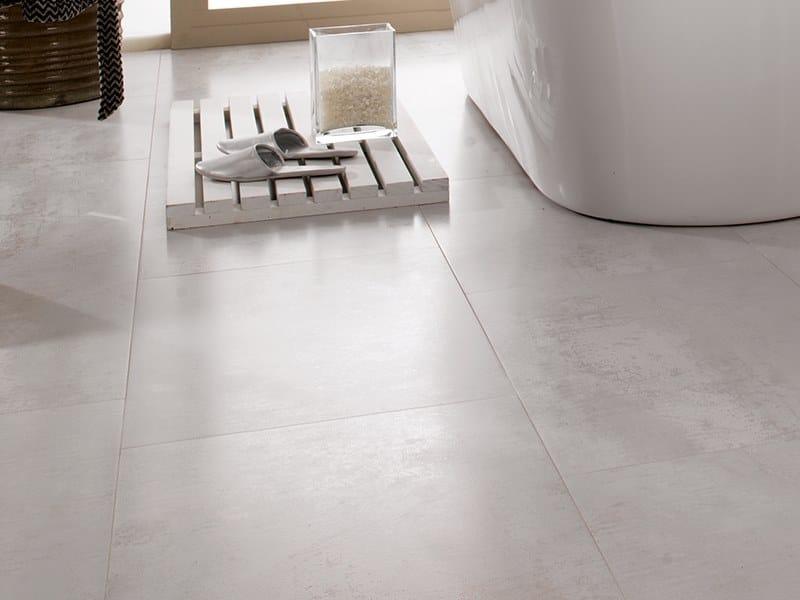 Flooring with metal effect FERROKER NIKEL by Venis
