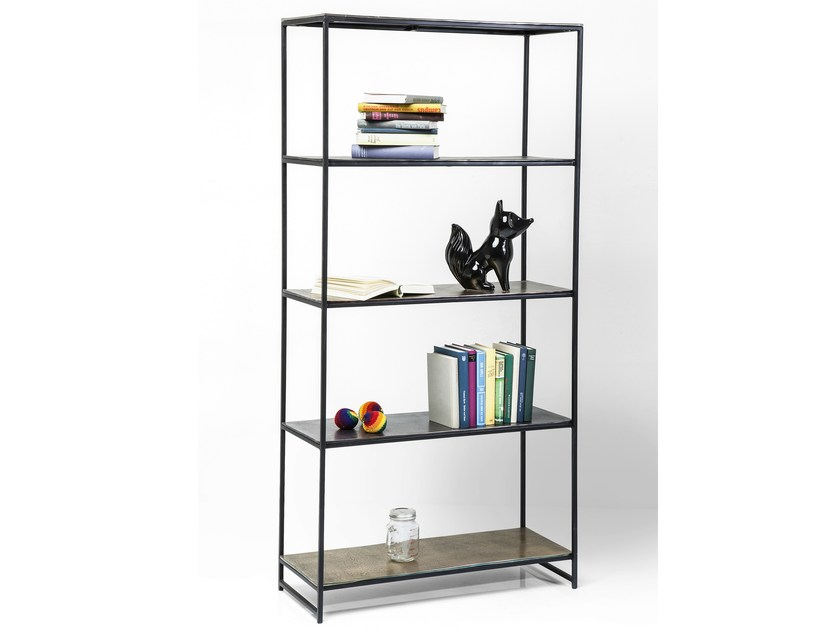 Open metal bookcase FETTA by KARE-DESIGN