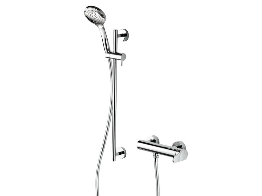 Single handle shower mixer with hand shower FEVERPLAT | Shower mixer with hand shower by RITMONIO