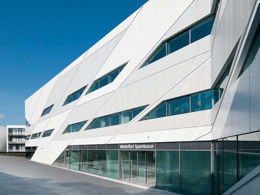 Aluminium Continuous metal laminate for facade FF2​® - FF2 plus® - FF3® by NOVELIS
