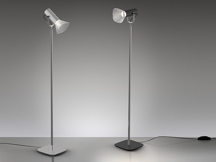 LED direct light floor lamp FIAMMA | Reading lamp by Artemide
