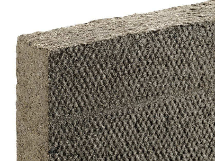 Sound insulation and sound absorbing panel in mineral fibre FIBRANgeo B-021 by Fibran
