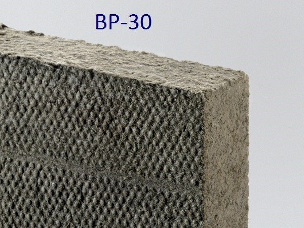 Sound insulation and sound absorbing panel in mineral fibre FIBRANgeo BP-30 by Fibran