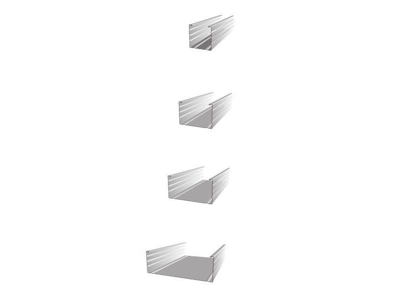 Profilo montante a C per pareti e contropareti FIBRANprofiles MONTANTE by Fibran
