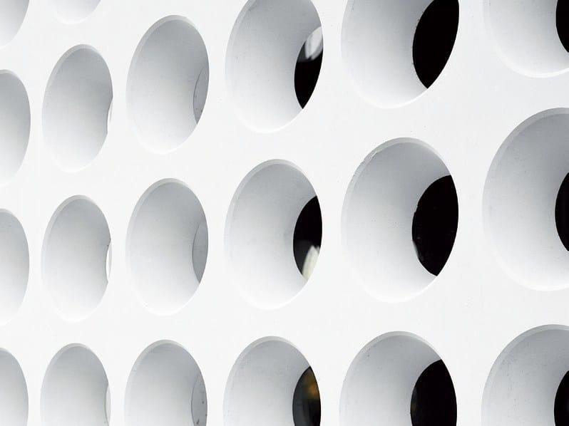 Fiber-reinforced concrete 3D Wall Cladding for facades CAST by RIEDER