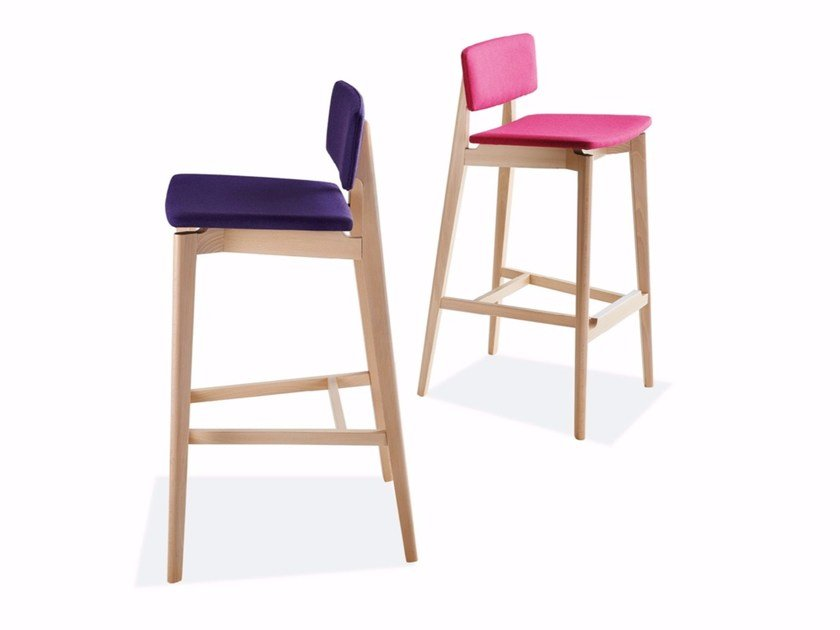 Upholstered stool FIFTY | Upholstered stool by Sedex