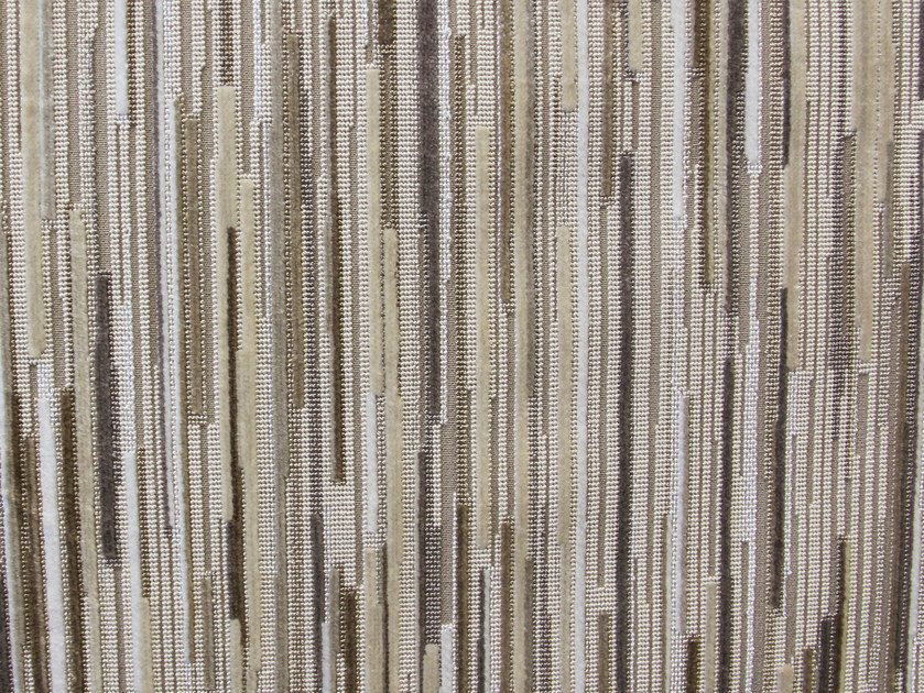 Multi-colored upholstery fabric FILAMENT VELVET by Aldeco