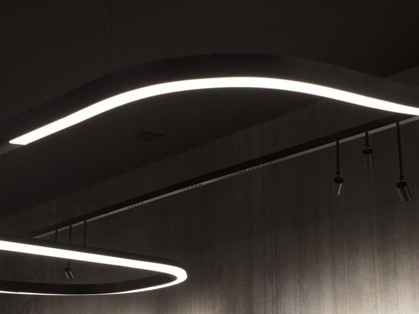 LED aluminium Linear lighting profile FILE FLEX | Linear lighting profile by LUCIFERO'S