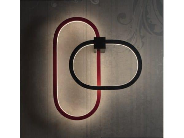 LED aluminium wall light FILE FLEX | Wall lamp by LUCIFERO'S