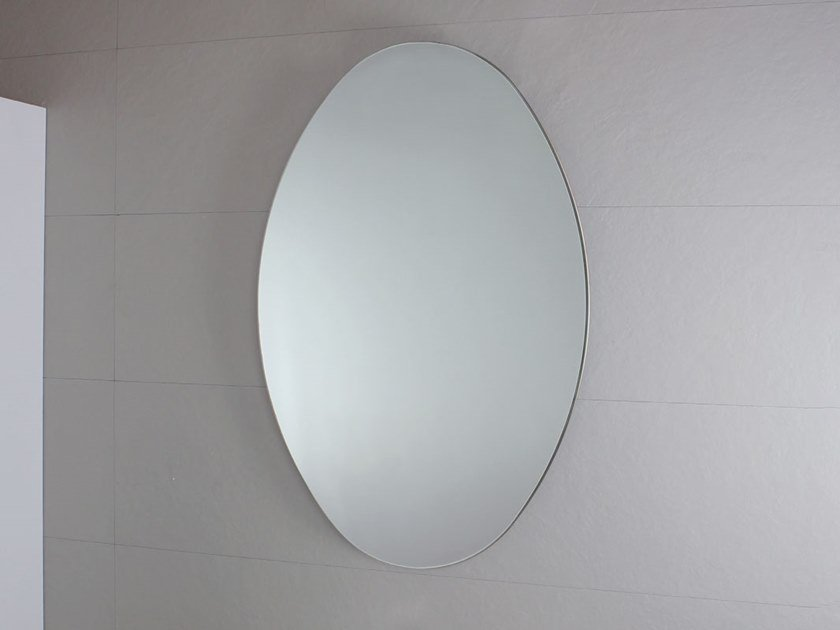 Oval wall-mounted bathroom mirror FILO LUCIDO | Oval mirror by KOH-I-NOOR