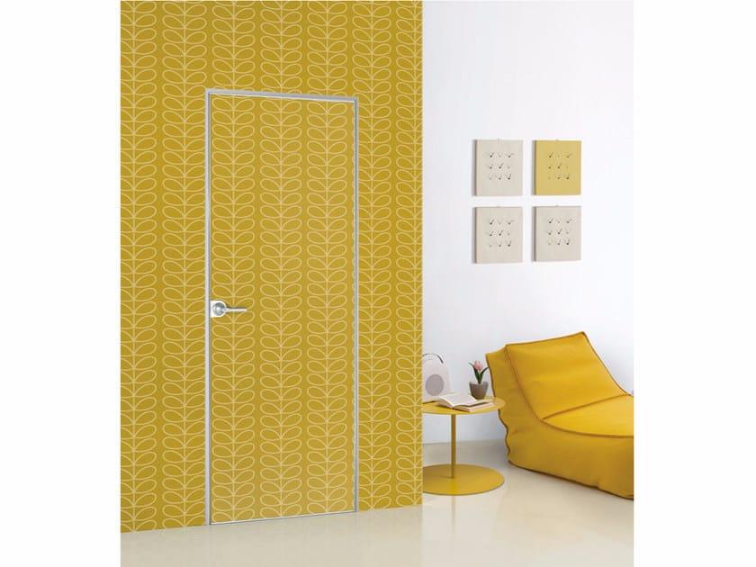 Porta a filo muro decorabile FILO ZERO - DECORABILI by PORTEK by LEGNOFORM