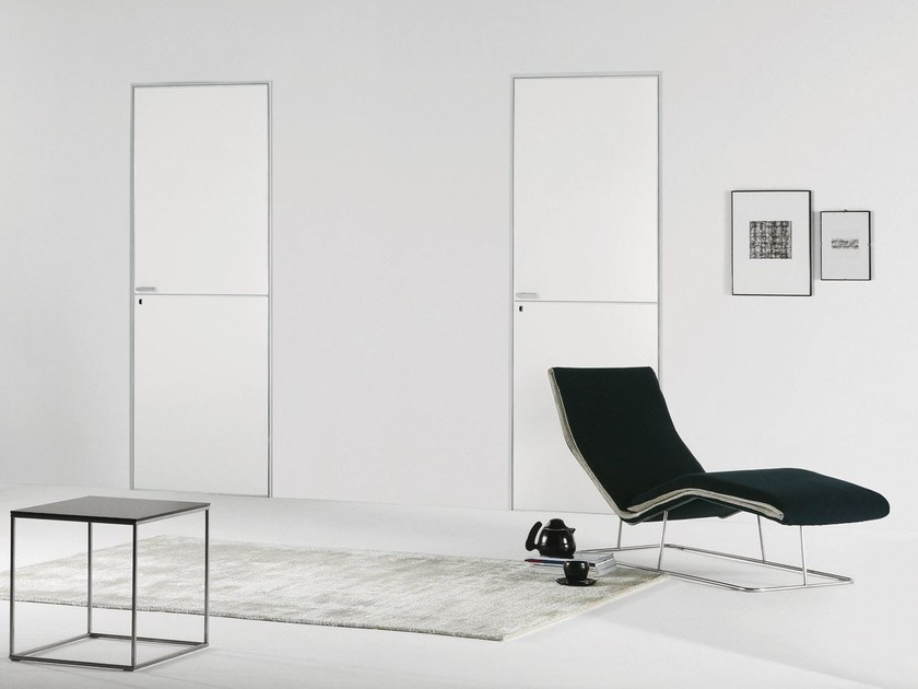 Flush-fitting lacquered door FILO ZERO - LACQUERED by PORTEK