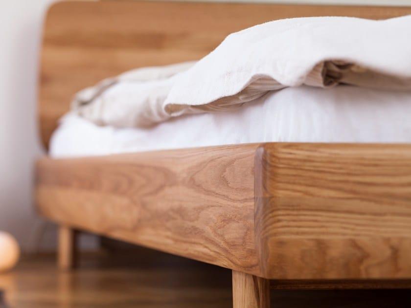 Letto matrimoniale in legno massello fin letto artisan