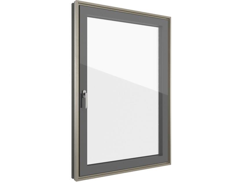 Wood-PVC casement window FIN-LIGNA SLIM-LINE CRISTAL | Wood-PVC window by FINSTRAL
