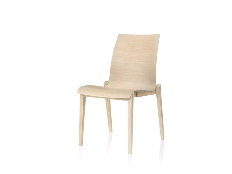 Wooden chair FINA WOOD | Wooden chair by Brunner