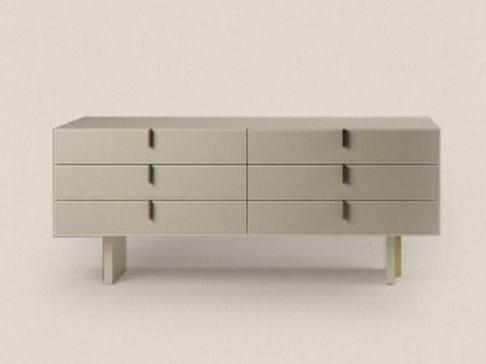 Cassettiera cabinet 180a collezione fine by paolo castelli design