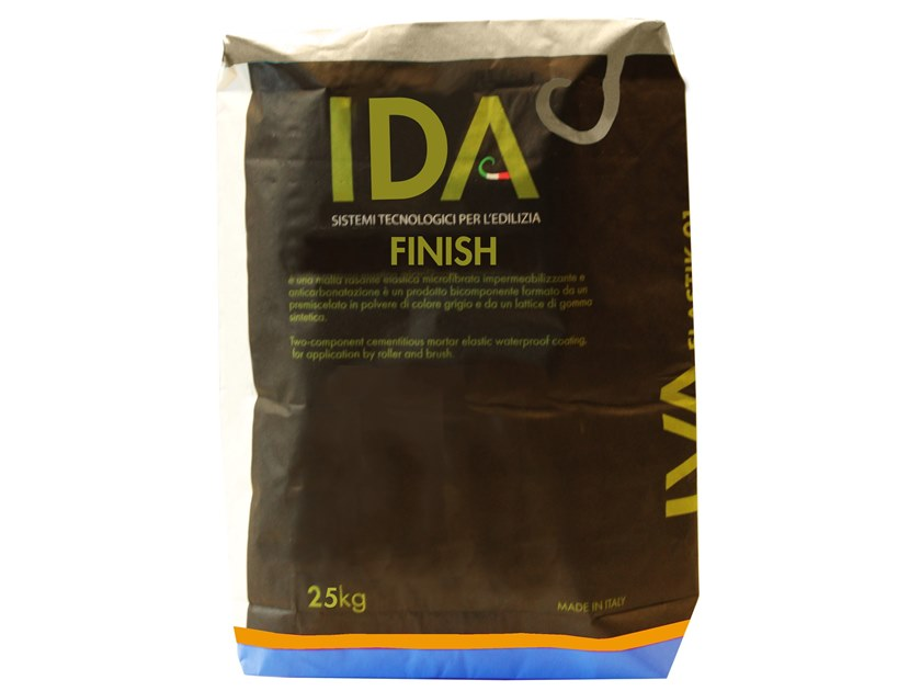 Renovating and de-humidifying additive and plaster FINISH by IDA