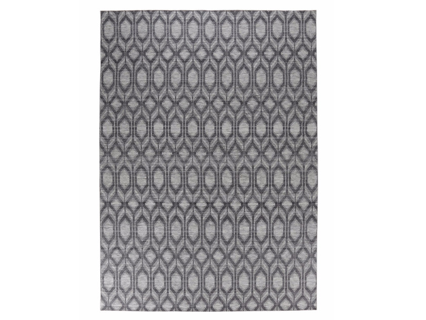 Fabric rug with geometric shapes FINSERVE VOL. IV. by miinu